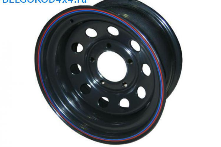 Диск Off Road Wheels 5x139.7 УАЗ 7х15 ET -10 черный